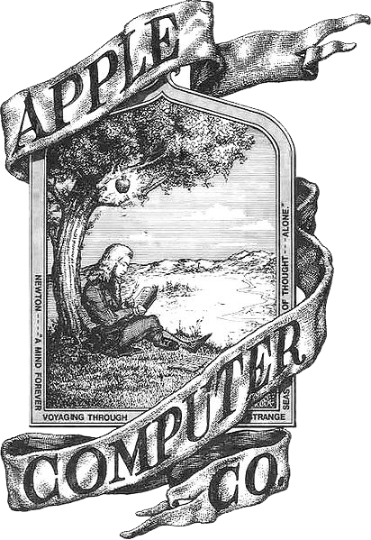 Apple Inc original logo