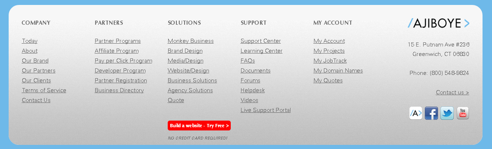 AJIBOYE Sitemap Directory