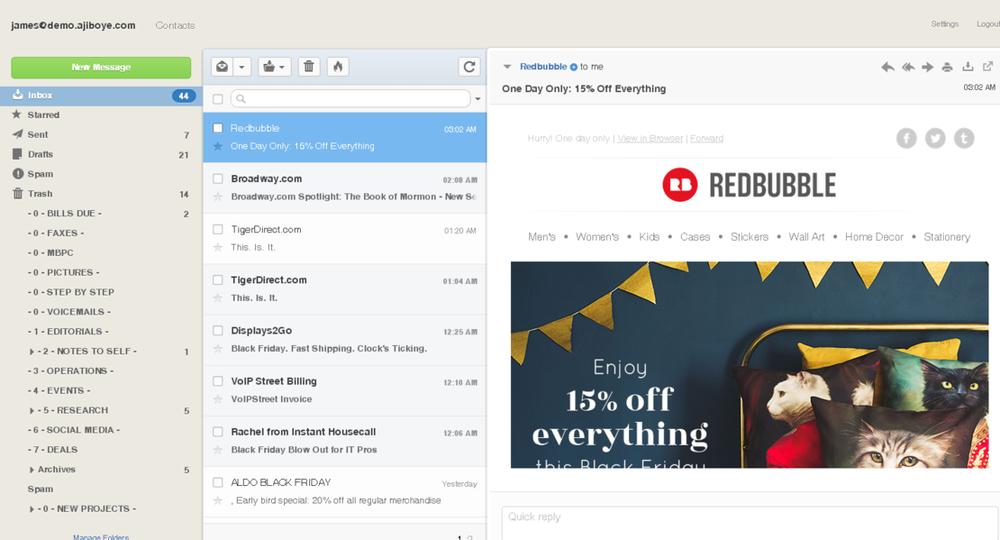 Monkey Business Webmail - Get a modern webmail for your business with Monkey Business