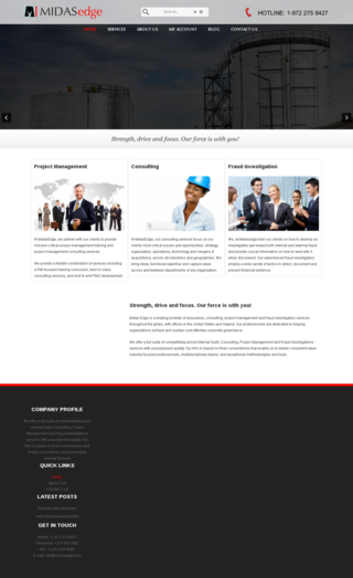 midasedge.com runs on Monkey Business
