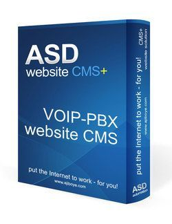 Voip-PBX Website CMS Solution