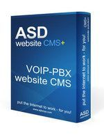 Voip-PBX Website CMS Solution
