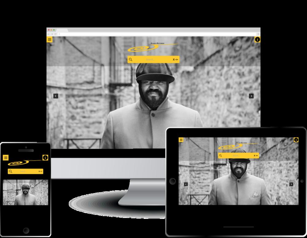 Monkey Elegance - a Custom Website Design Theme for Monkey Business Websites